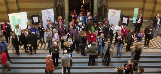 Dagen bjöd gemensamma föreläsningar i aulan och ett antal parallella seminarier.