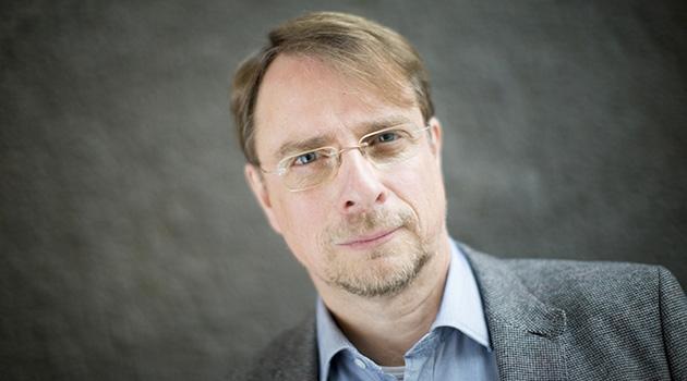 Personporträtt på Mikael Ahlund.
