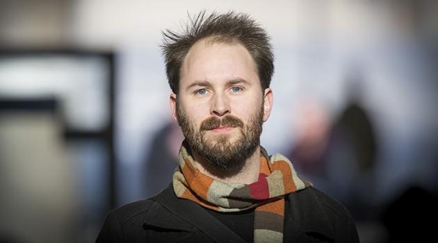 Porträttfotografi på Erik Hansson.