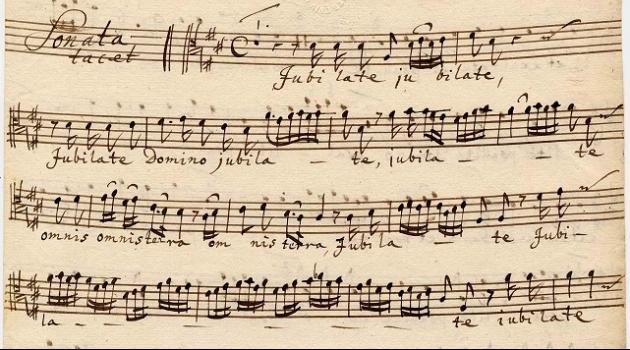 detalj från handskrift ur Dübensamlingen