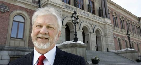 Rektor Anders Hallberg.
