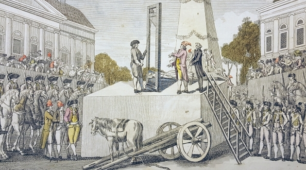 The execution of Marie Antoinette October 16, 1793