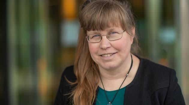 Porträtt av Kerstin Lindblad-Toh