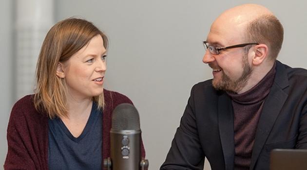 Moa Kindström Dahlin och Patrik Bremdal