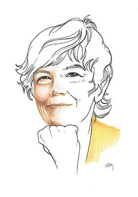 Illustration of Jane Mansbridge