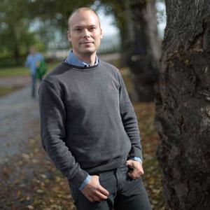 Portrait of Mattias Jakobsson, Uppsala University