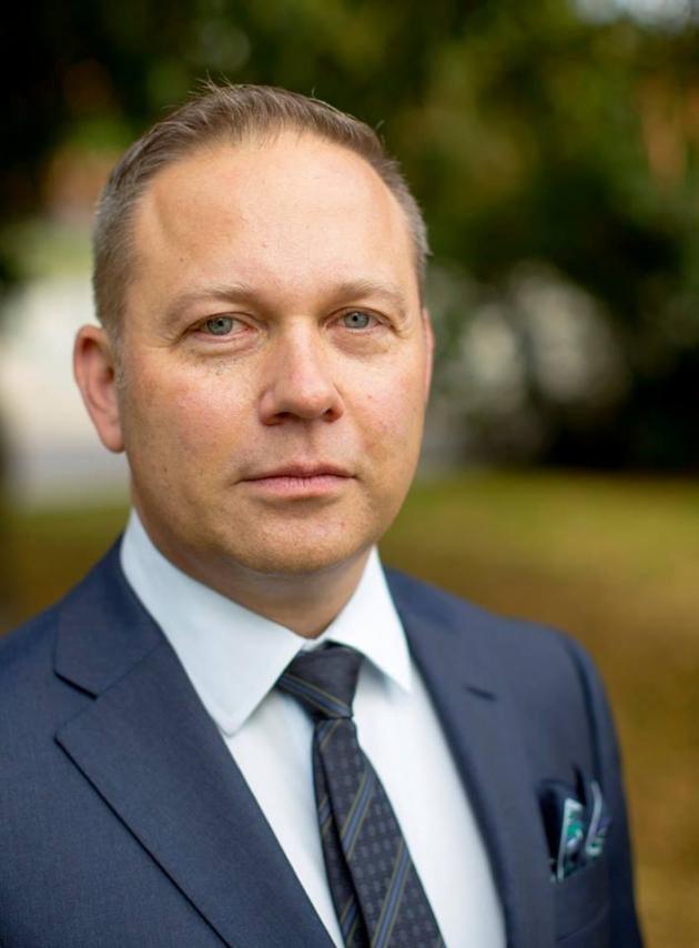 Porträttbild av Årets lärare, Torbjörn Ingvarsson
