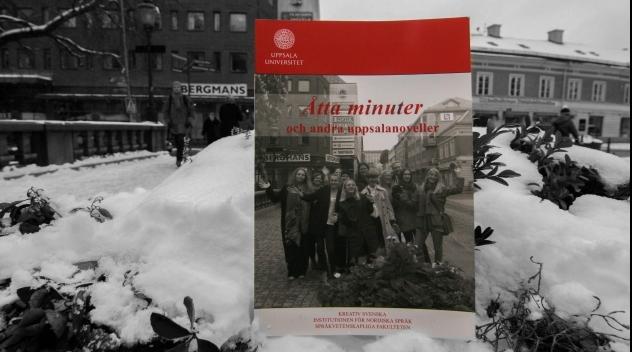 Fotografi på omslaget till novellsamlingen fotograferat utomhus på Nybron.