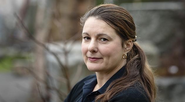 Personporträtt på Karin Brocki.