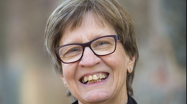 Personporträtt på Anita Hussénius.