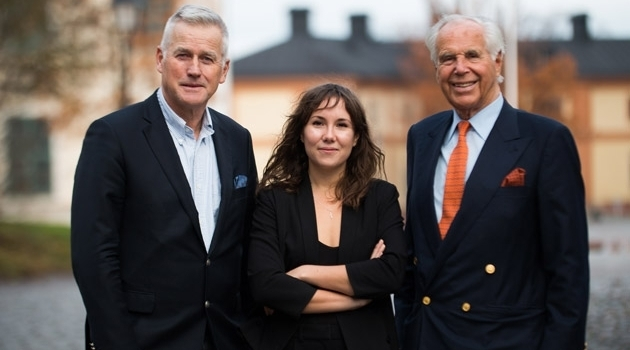 Emma Tysk, Anders Malmberg and Anders Wall.