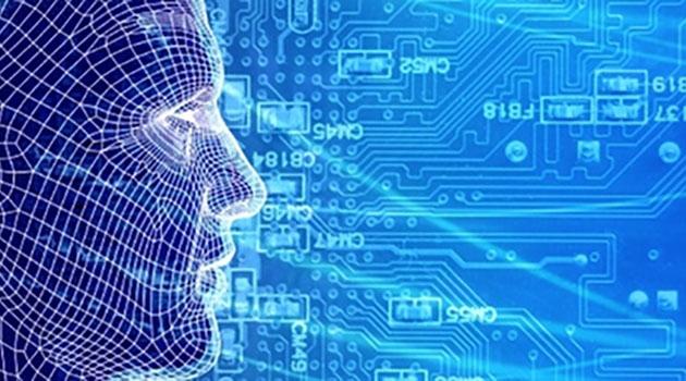Illustration av människan och AI