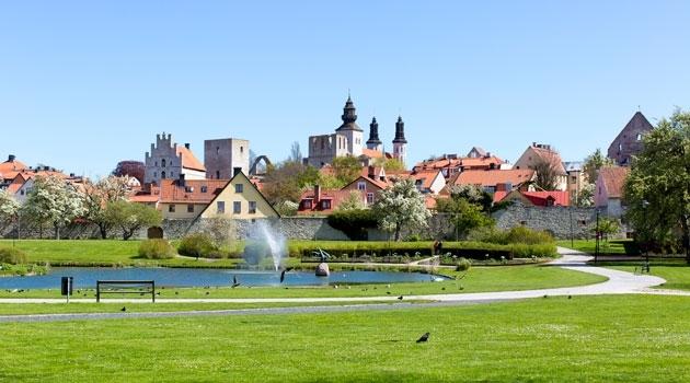 Almedalen in Visby