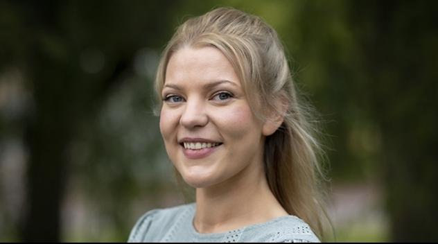 Andrea Benediktsdottir, farmaceutiska fakulteten, erhåller Irisstipendiet