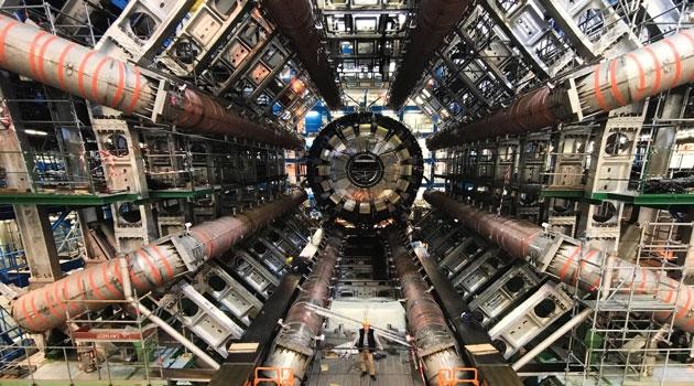 Partikelacceleratorn på CERN.
