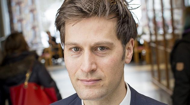 Christian Benedict, sömnforskare vid institutionen för neurovetenskap