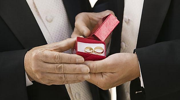 Ringar till bröllop