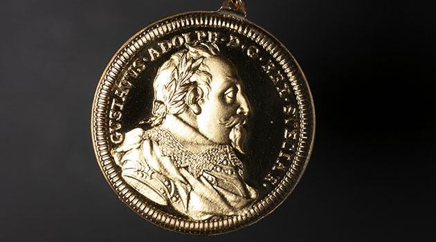 Äldre Gustaf Adolf-medaljen i guld