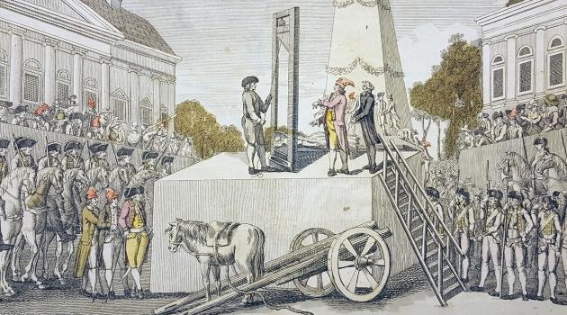 Marie Antoinettes halshuggning 16 oktober 1793