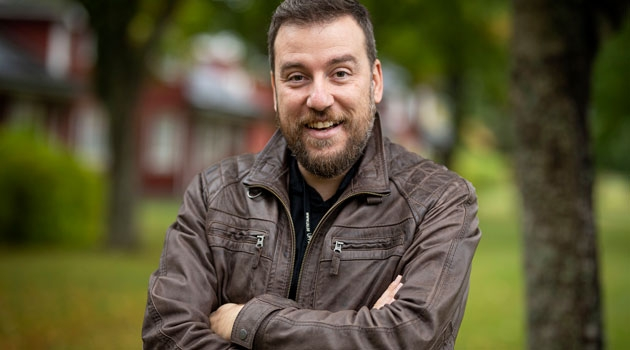 Portrait of Harris Stamatopoulos