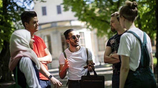 Students at Uppsala University