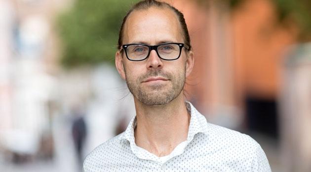 Porträtt av Isak Svensson
