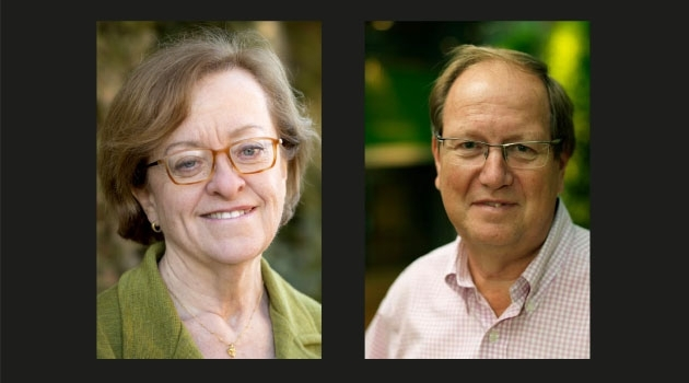 Professors Lena Claesson-Welsh and Leif Andersson