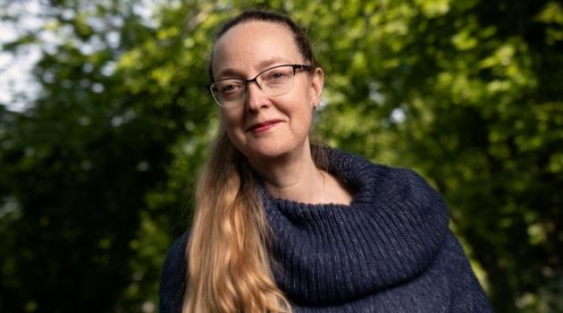 Porträtt av Lena Rydholm.