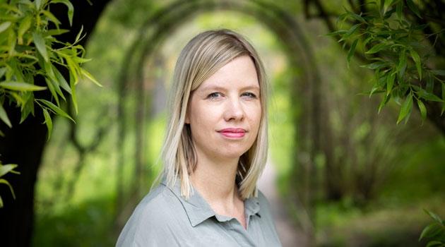 Porträtt av Linda Andersson Burnett