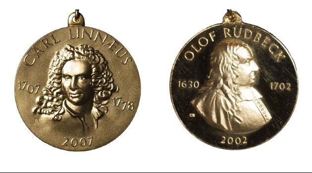 The Linnaeus Medal and the Rudbeck Medal