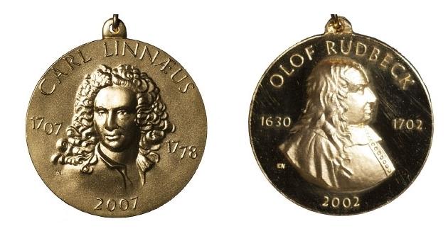 Linnémadaljen och Rudbeckmedaljen