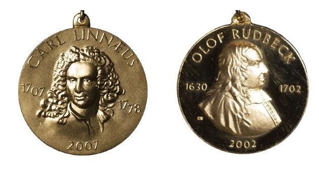 Linnémedaljen och Rudbeckmedaljen