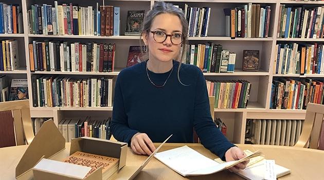 Malin Nauwerck leder Astrid Lindgren-koden