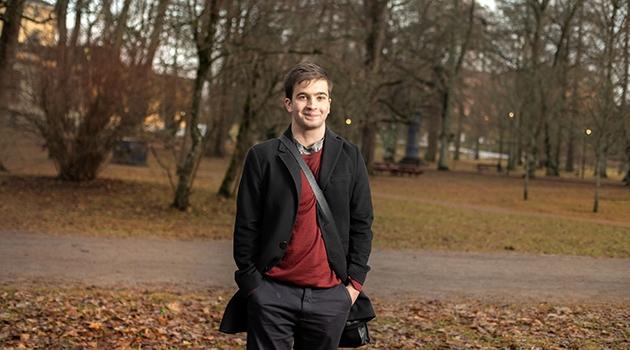 Mamduh Halawa, Årets Uppsalastudent 2020, går sista året på Psykologprogrammet.