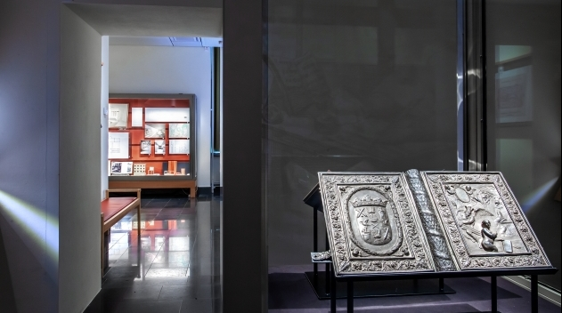 The exhibition hall, Carolina Rediviva