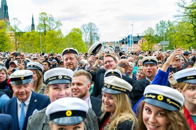 Carolina Hill in Uppsala, 30 april