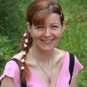 Portrait of Tünde Mitták.