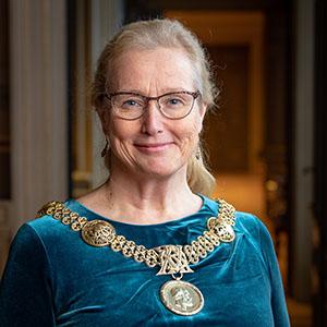 Rektor Eva Åkesson.