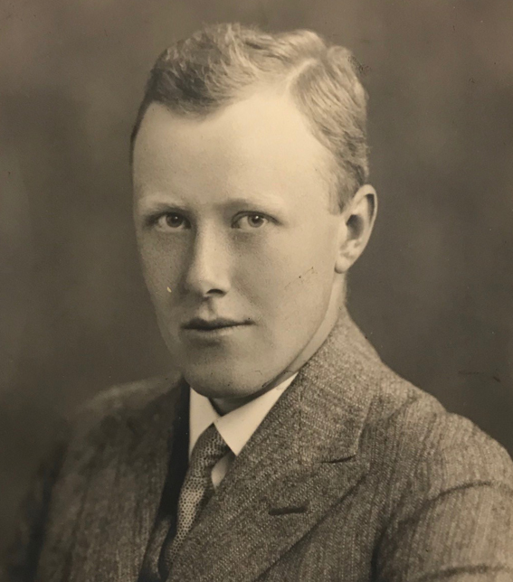 portrait of a young Segerstedt