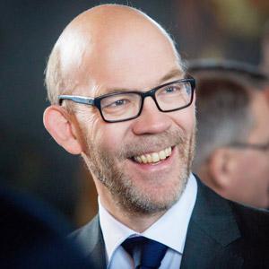 Porträtt av Hans Ellegren.