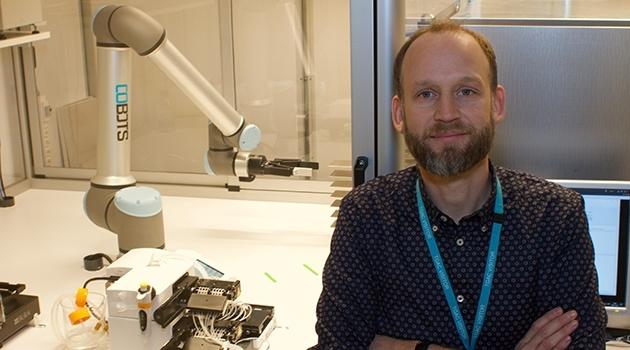 Ola Spjuth, professor i farmaceutisk bioinformatik