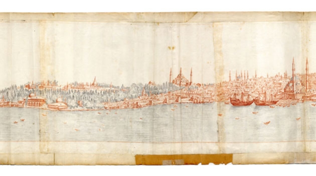 Panoramic picture of Istanbul.