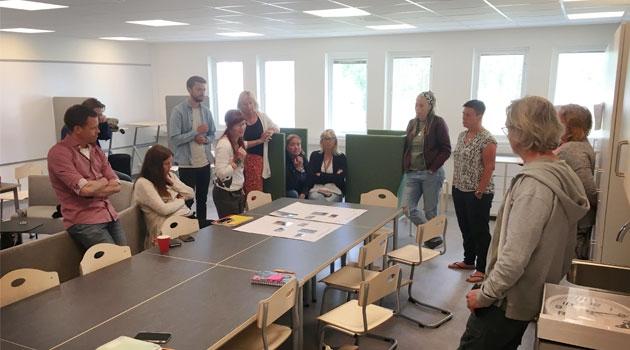 Lärare provar att utforska ekologisk och social hållbarhet i Visby.