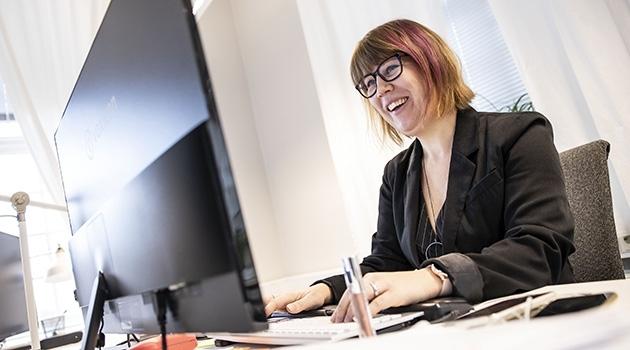 Sara Mangsbo, institutionen för farmaceutisk biovetenskap