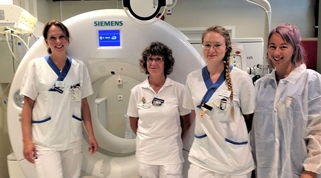 Diagnostic radiology nurses