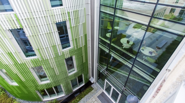 SciLifeLabs byggnad i Uppsala.