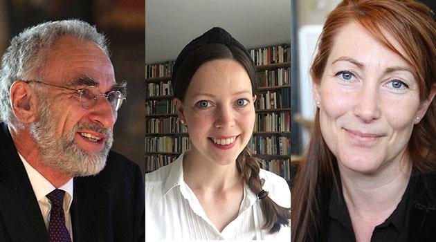 Johan Hirschfeldt, Johanna Chamberlain och Thérèse Fridström Montoya