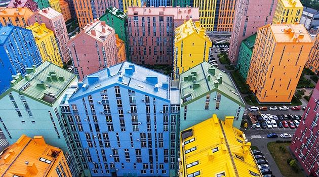 Urban stadsmiljö