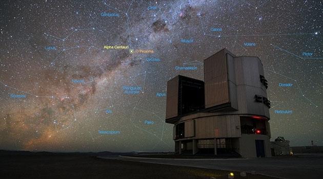 Paranal Observatory i Chiles Atacamaöknen